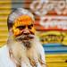 Sadhu Portrait, Uttar Pradesh India