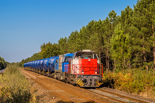 26 septembre 2018  BB 61017  Train 467407 La Rochelle-Pallice -> Bordeaux-Hourcade Bussac-Forêt (17)