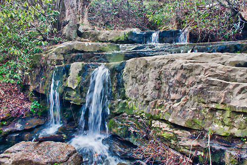We decided to back-track to Lower Lodge Falls and hike up to the Lodge.