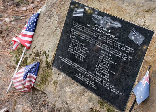"The Aircraft ""Resolution"" Memorial Plaque 