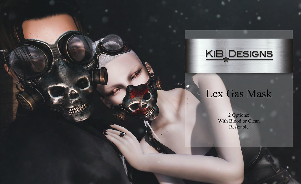 KiB Designs - Lex Gas Mask@Darkness Event - TeleportHub.com Live!