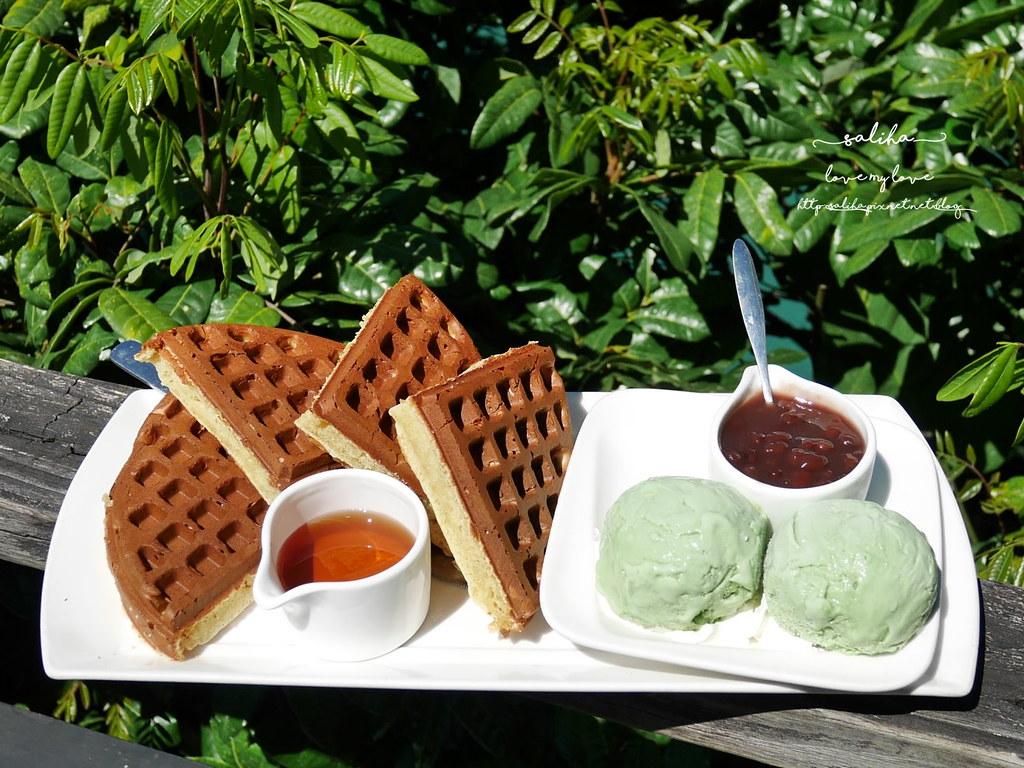 烏來一日遊景點行程La Villa Wulai景觀咖啡下午茶鬆餅 (6)