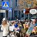 Café scene in Vilnius