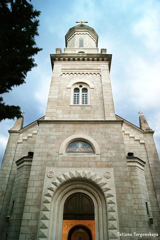 Центральный фасад собора Св. Преображения