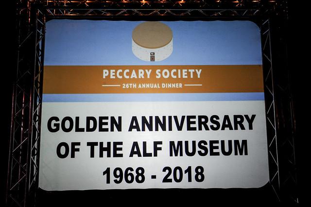 2018 Peccary Society Dinner
