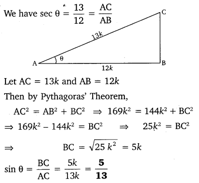 NCERT Solutions for Class 10 Maths Chapter 8 Introduction to Trigonometry 6