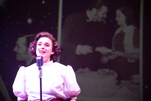 Annie Yokom. Beyond the Rainbow: The Judy Garland Musical at Farmer's Alley Theatre. Photo courtesy and copyright Becky Klose