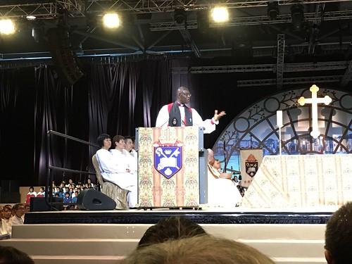 HKSKH 20th Anniversary Eucharist - Dr Josiah Idowu-Fearon