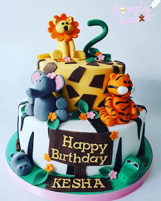 Jungle Cake by Simply sweeter