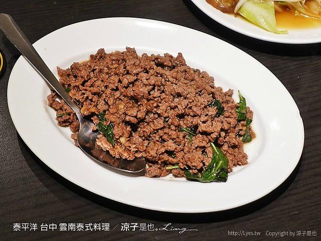 泰平洋 台中 雲南泰式料理 14