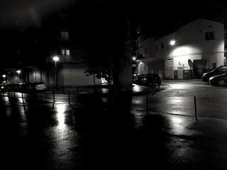 La nit i la pluja.