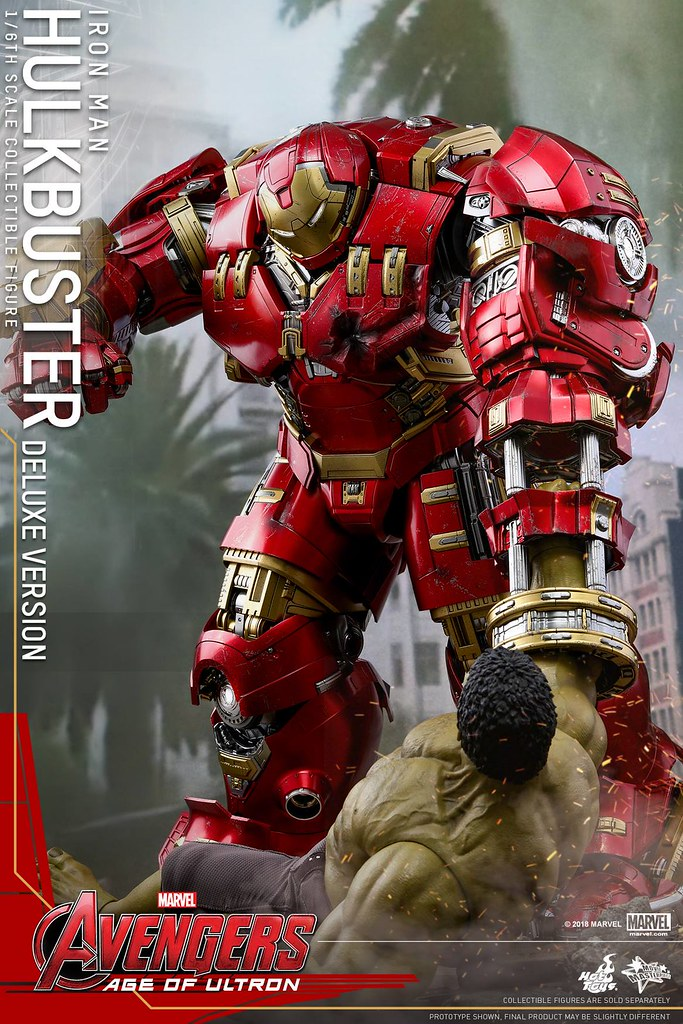 """Veronica, give me a hand!"" Hot Toys - MMS510 - Avengers: Age of Ultron 1/6th scale Hulkbuster (Deluxe Version) Collectible Figure"