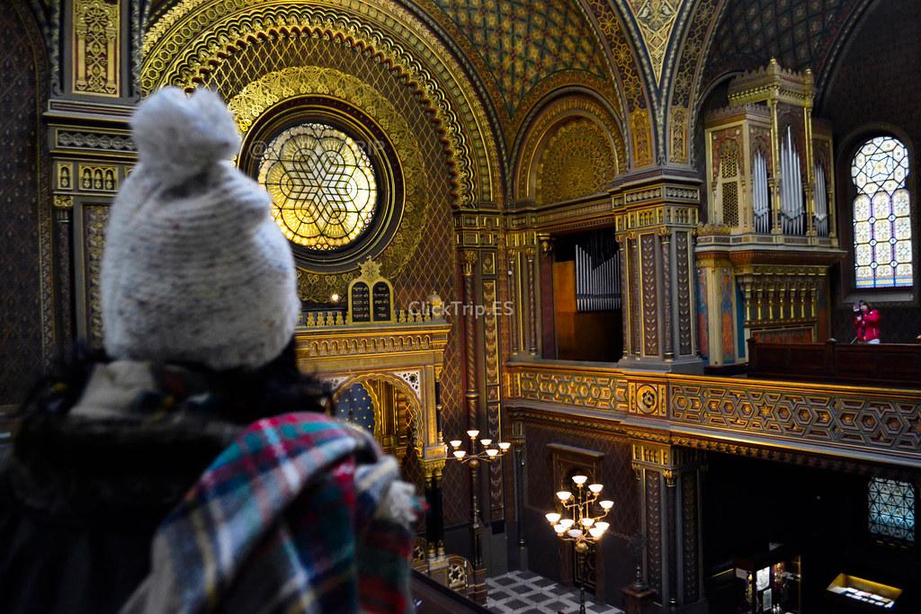 · Sinagoga Española · Josefov ·