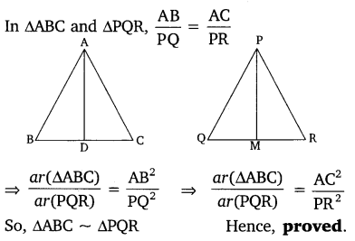 NCERT Solutions for Class 10 Maths Chapter 6 Triangles 51