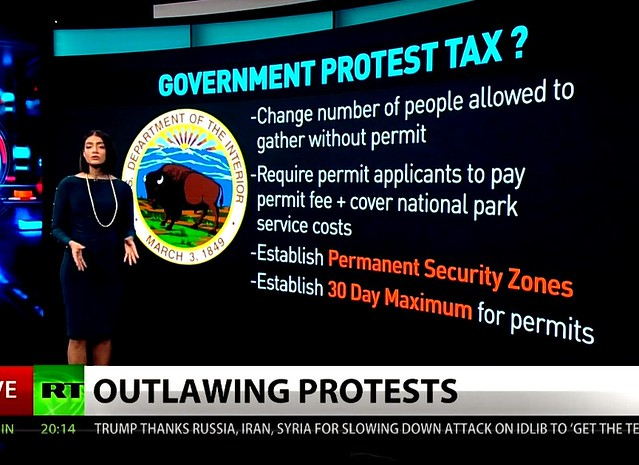 Polite and Apolitical? Repression By Another Name + Pay to Protest: Government Cracks Down on D.C. Demonstrations + Take Action!
