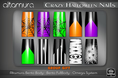 ALTAMURA @ Crazy Halloween Nails Applier - Group Gift
