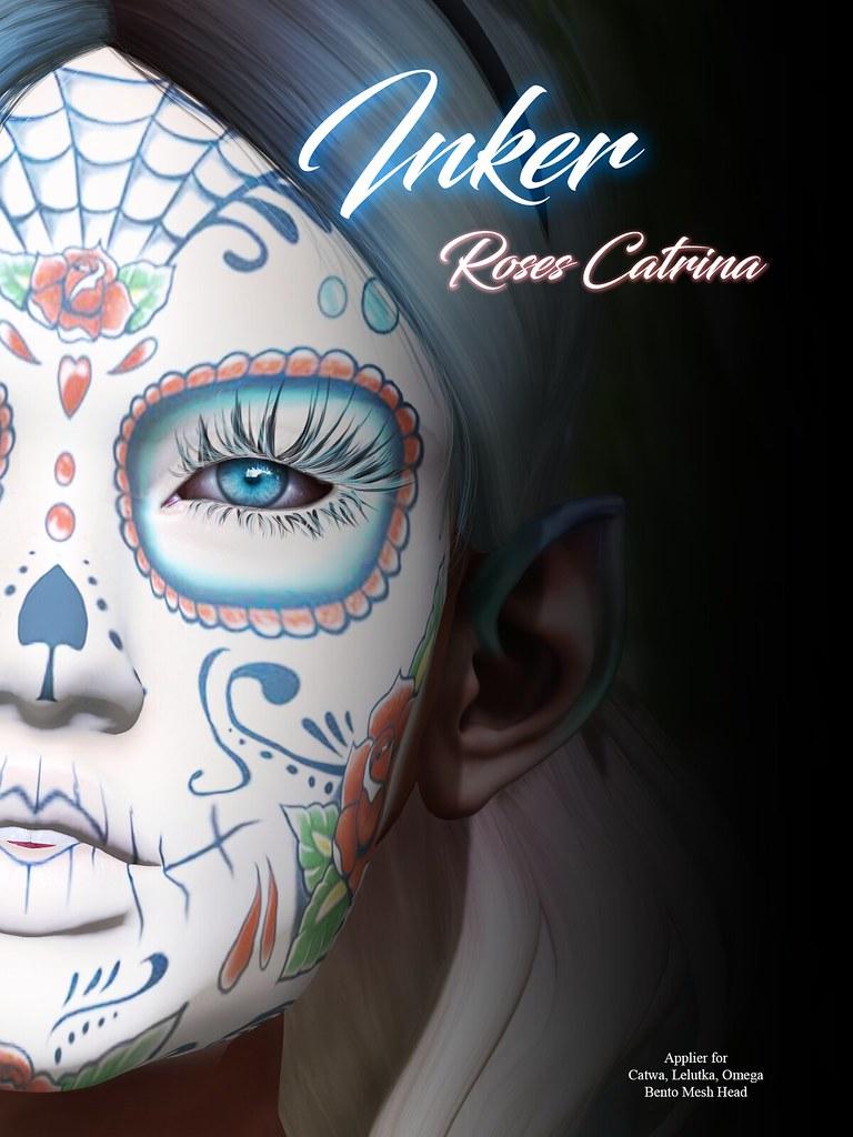 ..:: INKer ::.. Roses Catrina Mask - TeleportHub.com Live!
