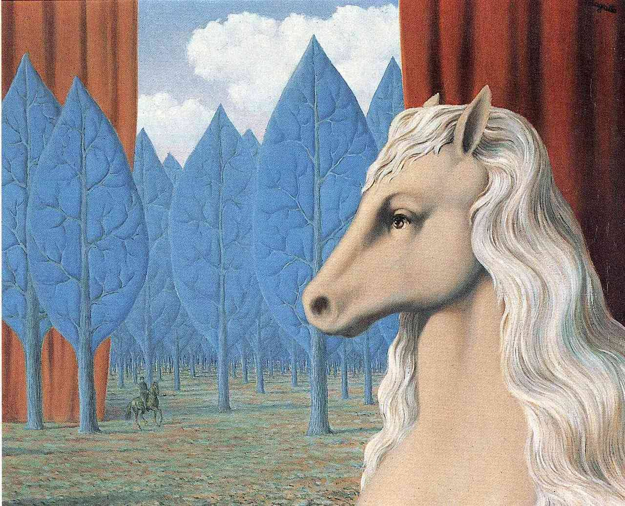 Pure reason, Rene Magritte