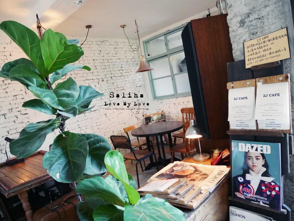 台北大安森林公園站附近韓風咖啡館2J CAFE (7)