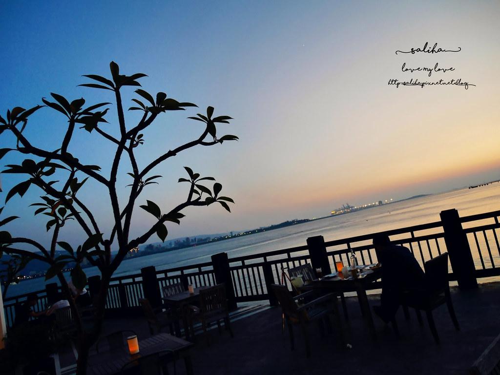 新北淡水老街夜景夕陽景觀餐廳咖啡館推薦la villa cafe (4)