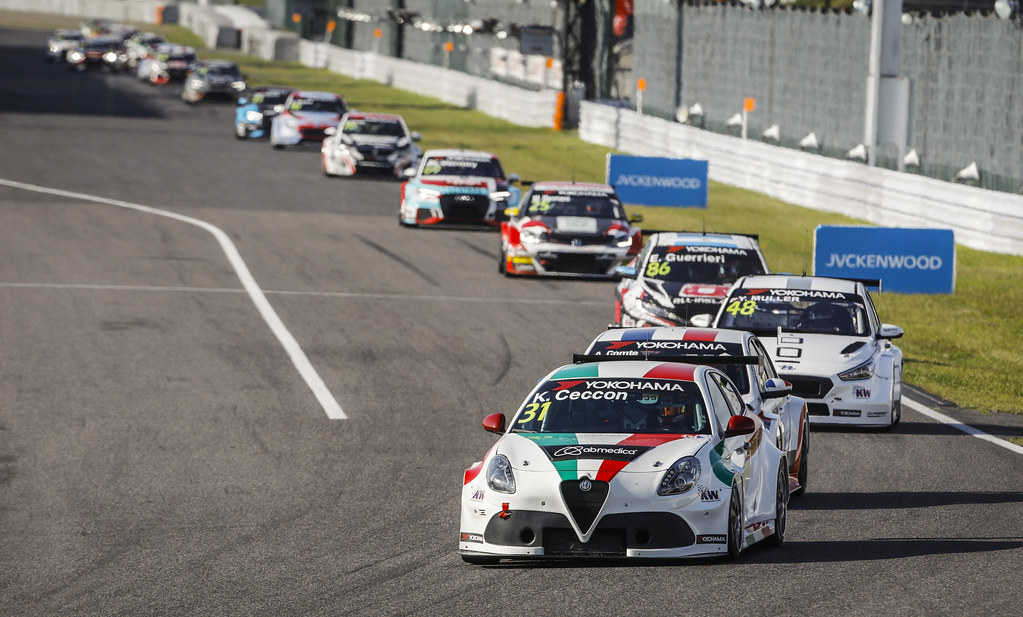 31 CECCON Kevin (ITA), Alfa Romeo Giulietta TCR, Mulsanne Srl, action during the 2018 FIA WTCR World Touring Car cup of Japan, at Suzuka from october 26 to 28 - Photo Francois Flamand / DPPI