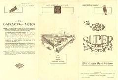 Garrard Super Gramophone Motora