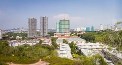 Puchong Landscape Seen from Bukit Wawasan
