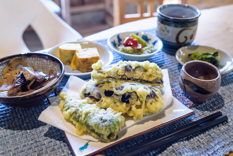 Today's set meal at Nobushina NAGANO