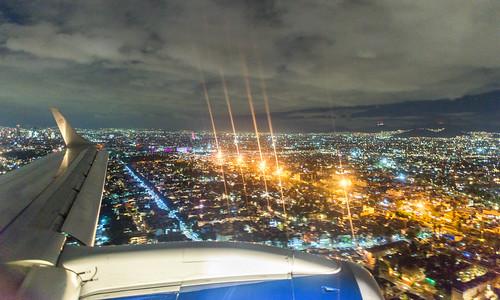 Landing in Mexico City V