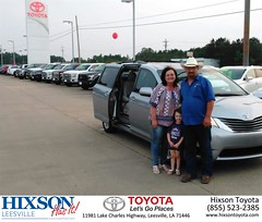 #HappyBirthday to Mary from Jason Olfers at Hixson Toyota of Leesville!