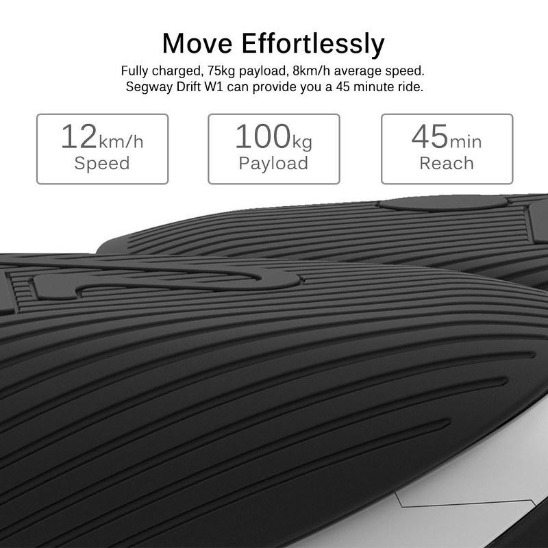 Xiaomi Ninebot Segway Drift W1 レビュー (5)