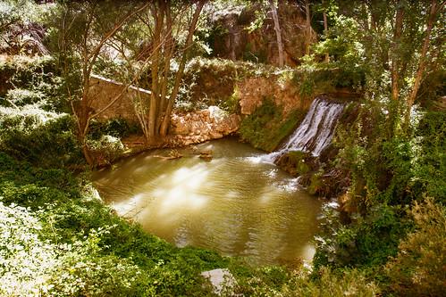 Cascada en el río Henar