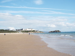 The long beach in Tenby