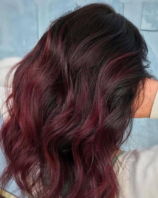 best burgundy hair dye to Rock this Fall 2019 6