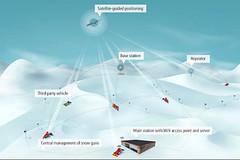 GPS monitoring výšky sněhu na sjezdovce nově ve SkiResortu Černá hora - Pec