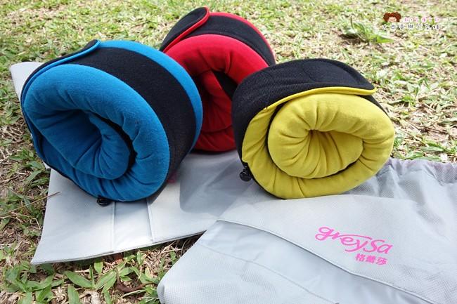 GreySa格蕾莎 全家福旅行頸枕 旅行枕推薦 (16)