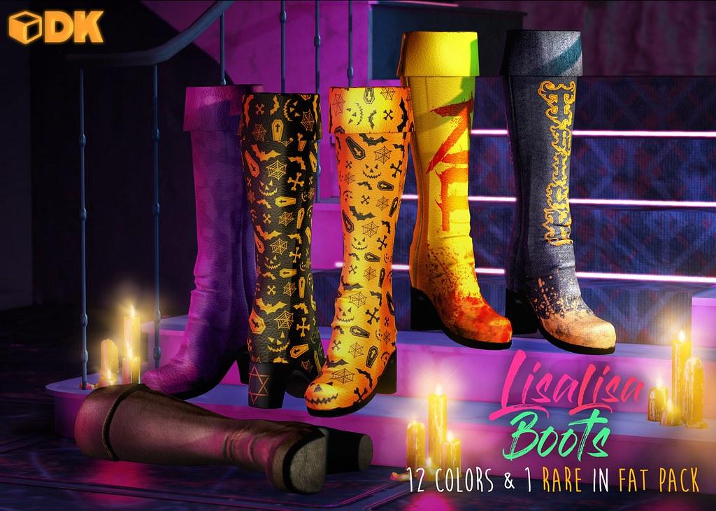 DK LisaLisa boots - TeleportHub.com Live!