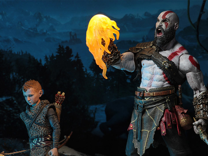 Kratos and Atreus Neca Action Figure