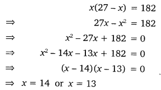 NCERT Solutions for Class 10 Maths Chapter 4 Quadratic Equations 8