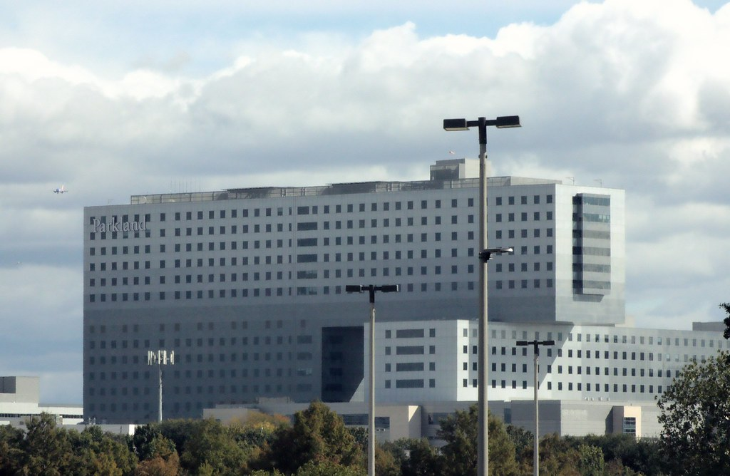 Dallas TX, Parkland Hospital | David Russell | Flickr