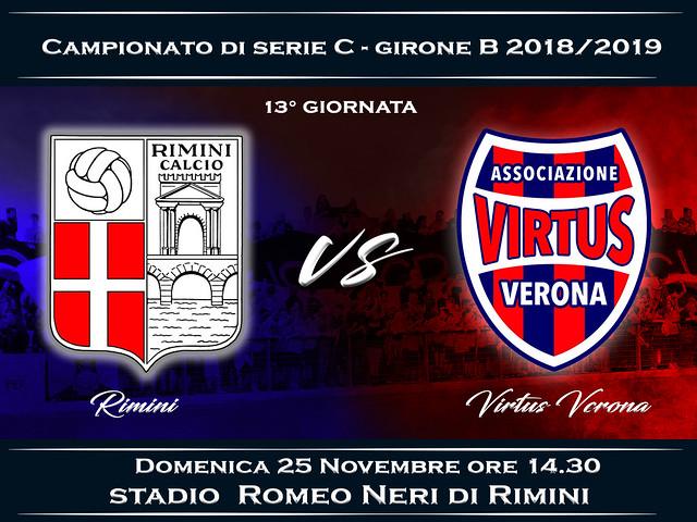 Rimini - Virtus Verona 1-0 FINALE