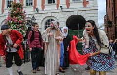 YMPST waggon play performance, St Helen's Square, 16 September 2018 - 01