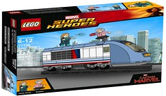 Lego Captain Marvel Set !!! Photoshop