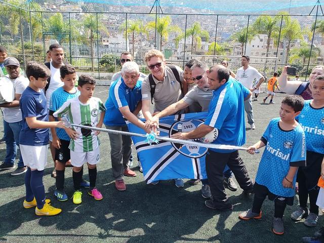 Inauguração do Núcleo de Captação Rocinha