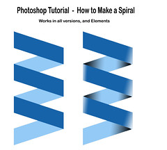 Tutorial  - How to make a Spiral in Photoshop