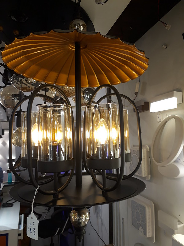 Parasol chandelier