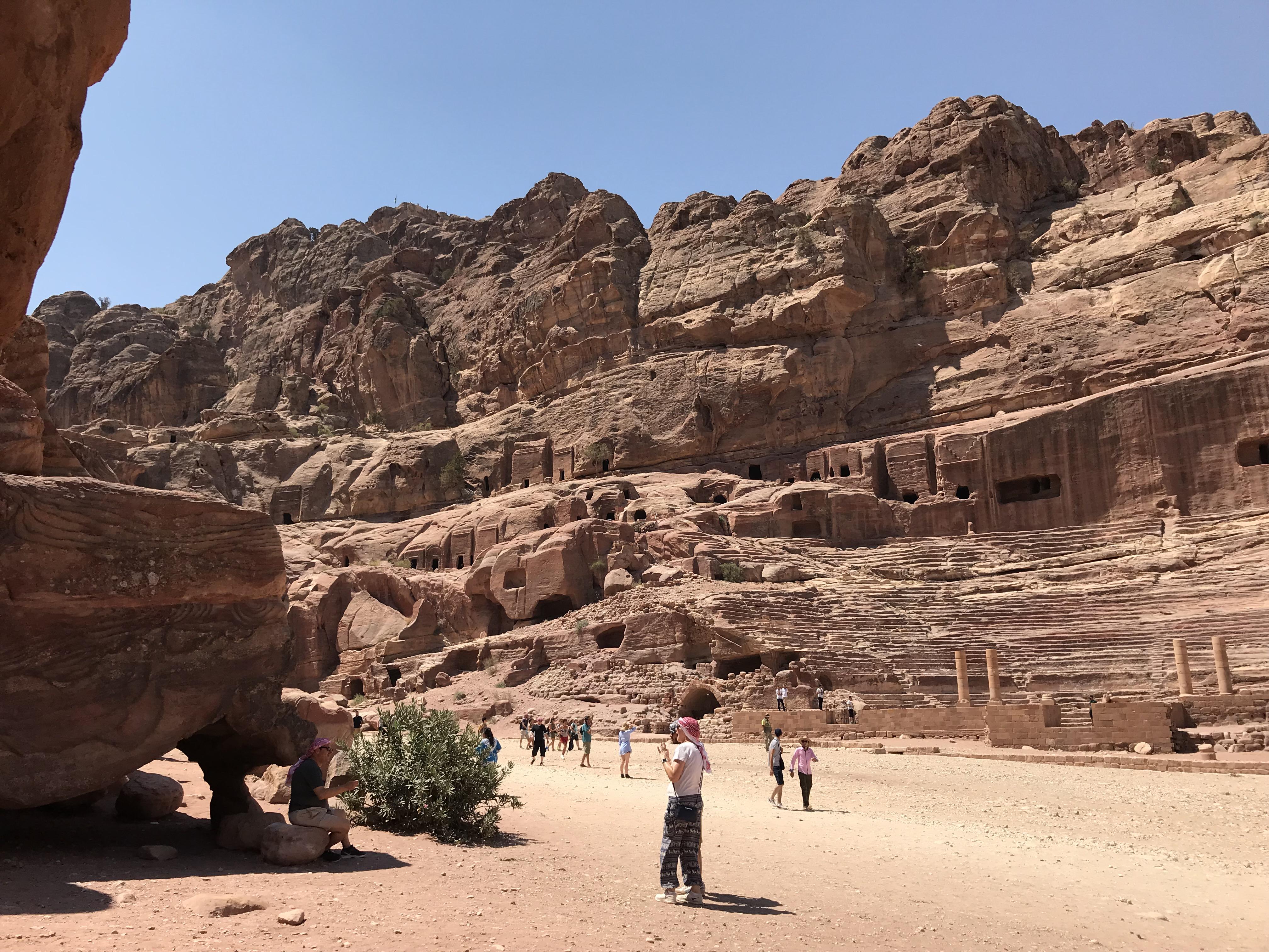 Petra - caves