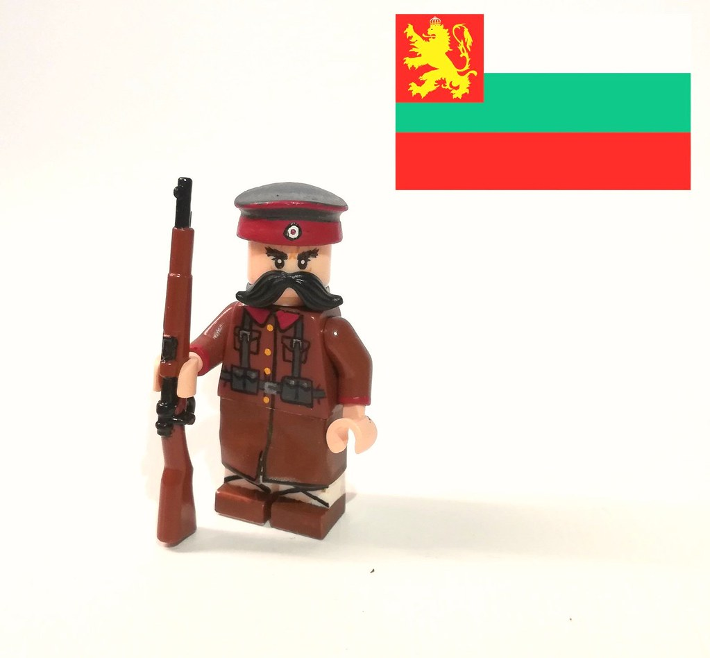 Bulgarian soldier WW1