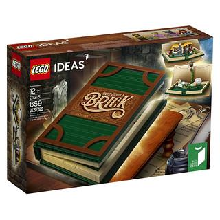 「新增官圖&販售資訊」最熟悉的童話故事樂高化!! LEGO 21315 Ideas 系列【樂高立體書】LEGO Pop-Up Book
