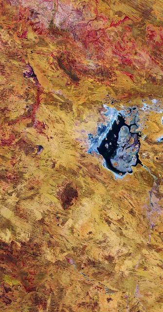 Photo:Lake Disappointment, Australia By europeanspaceagency